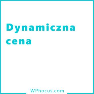 Dynamiczna cena woocommerce