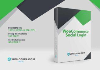 WooCommerce logowanie społecznościowe