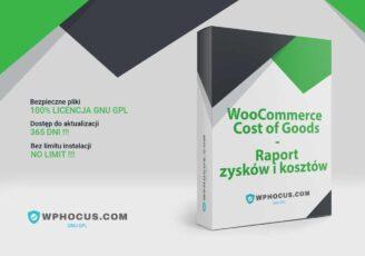 WooCommerce Raport zysków i kosztów