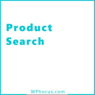 Wyszukiwarka produktów woocommerce