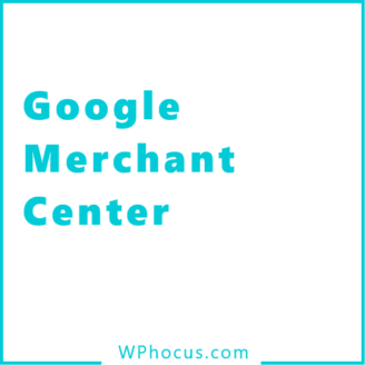 Google Merchant center woocommerce