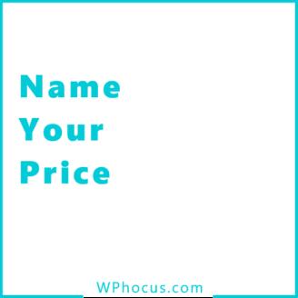 Podaj swoją cenę woocommerce