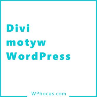 Motyw divi wordpress
