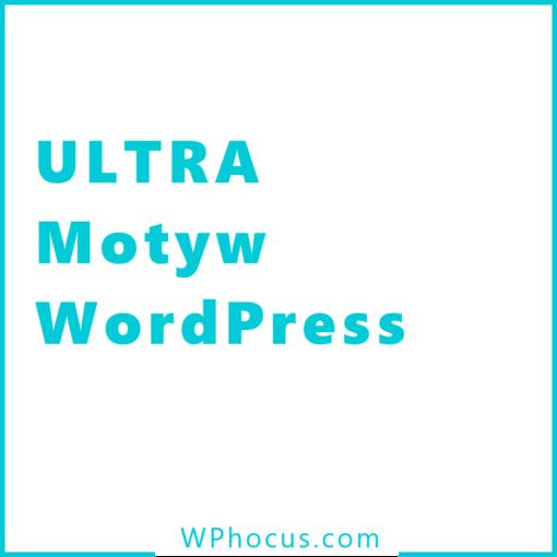 Szablon do wordpress