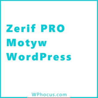 Zerif pro wordpress