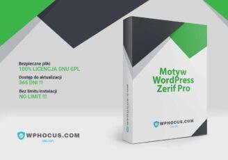 Wordpress Motyw Zerif Pro