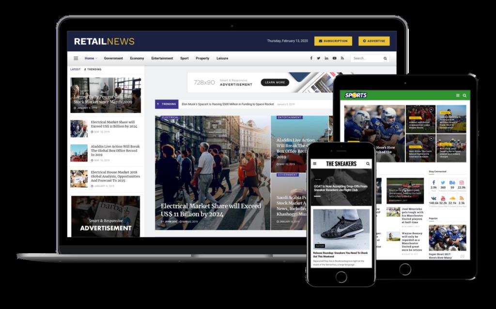 Portal regionalny wordpress