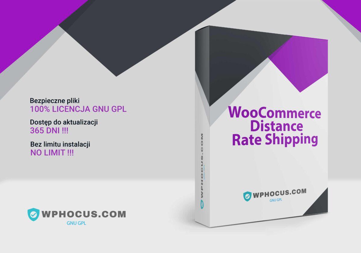 Koszty wysyłki na podstawie odległości w WooCommerce