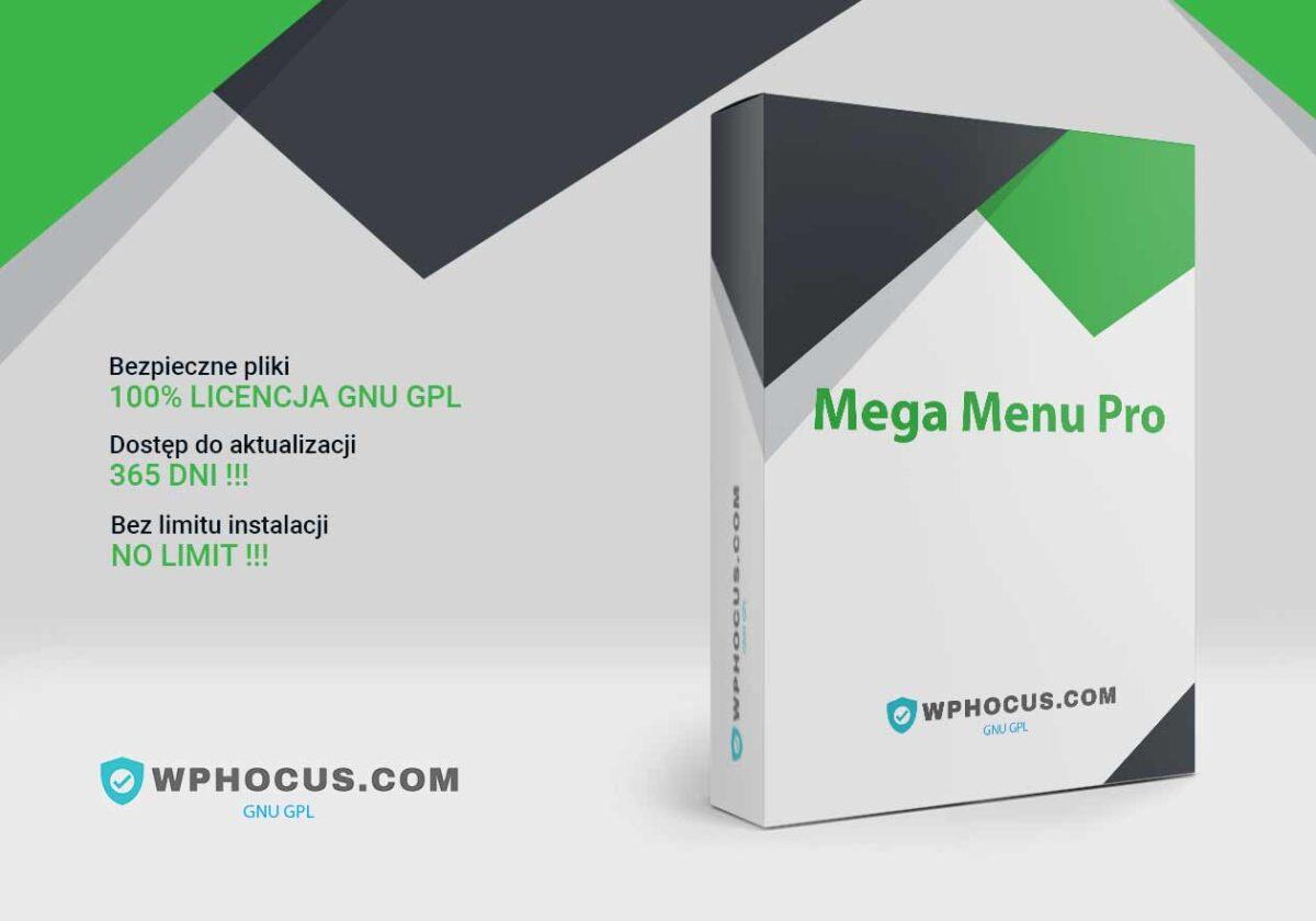 Wtyczka Wordpress Mega Menu