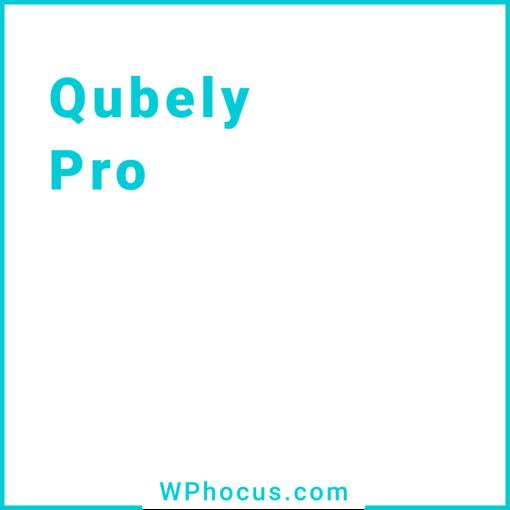 Qubely Pro wtyczka