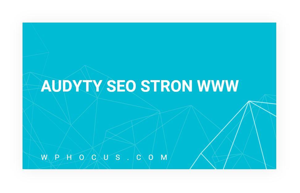 audyty seo stron www