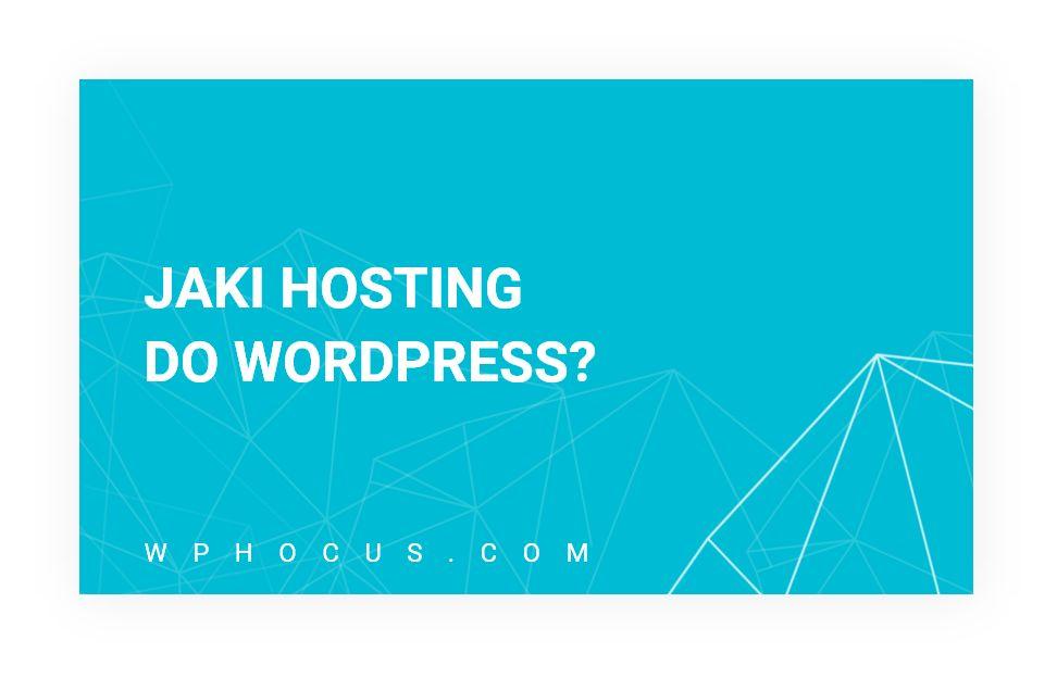 jaki hosting do wordpress