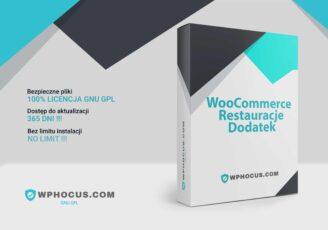 woocommerce restauracja